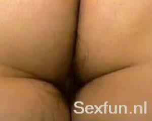 Amateur sexbeelden van behaarde doos
