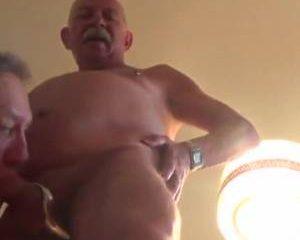 Gay senioren maken pijp video