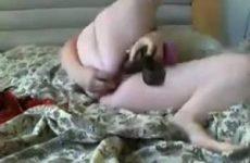 Dikke tiener als webcam meisje.